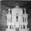 Main altar restored and painted following the 1937 flood