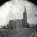 St. Rose exterior following the fire of 1894